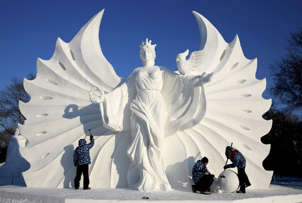 The 31th Harbin Ice and Snow Festival 2015, Khichdi , China, Harbin, Amaging Festivals , The greatest Festivals on the earth