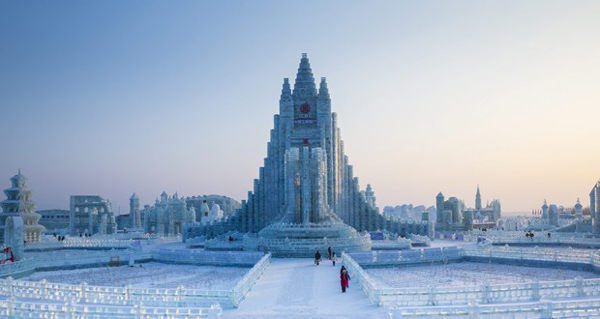 "Harbin International Ice and Snow Sculpture Festival opens with a theme ""Ice Snow Harbin, Charming China Dream"" , Khichdi, Best Picture , Best site, best festival ,"