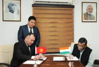 India, Kyrgyzstan ink MoU for cooperation on textile, clothing,Bilateral,India-Kyrgyzstan,Kyrgyzstan