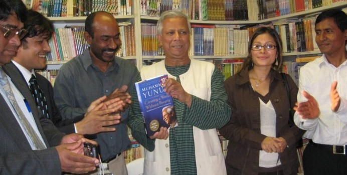 the Grameen Bank   Muhammad Yunus   The Father of MicroFinance,