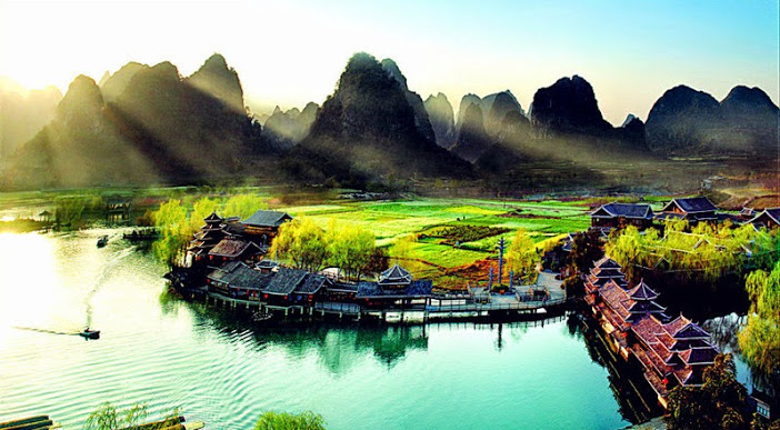Guilin, China - Weirdly Beautiful Places # 2