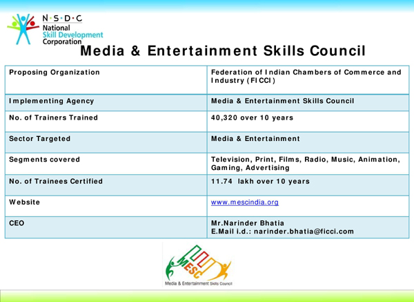 Media & Entertainment Skills Council (MESC), Khichdi, Media & Entertainment Skills Council (MESC), Media & Entertainment Skills Council( MESC), MESC, Khichdi, NSDC,PMKVY, STAR Scheme, PMKVY, Pradhan Mantri Kaushal Vikas Yojana, PM's Skill India Mission, Job roles  Chairman, Media & Entertainment Skills Council (MESC),Kamal Haasan,  Animator , Rigger,  Modeller , Texturing,