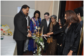 Rajiv Pratap rudy Minister of State Skill Development & Entrepreneurship Inaugurated Beauty & Wellness Sector Skill Council