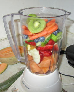 Fruit Smoothies,khichdi, online, resipe, health, summer, cool,Yogurt with plate full of fruits