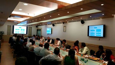 30 large scale training partners, NSDC and MSDE meet in Delhi today to discuss the roll out of Pradhan Mantri Kaushal Vikas Yojna (PMKVY) , Launching of PMKVY