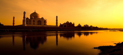 Taj Mahal || AGRA  – Weirdly Beautiful Places   #    9