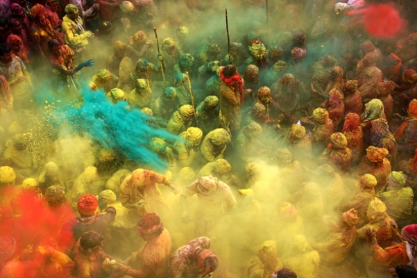 Indian festival of colours, Holi