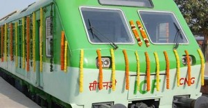 Railway Ministry flagged off India's first CNG train in Haryana
