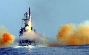 India successfully test-fired nuclear-capable Dhanush missile from ship