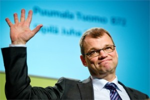 Juha Sipilä, leader of the Finnish 'Centre Party', Centre Party wins Parliamentary Elections of Finland, ousts incumbent PM Alexander Stubb