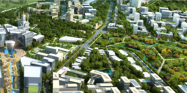 Taking a major step in its bid to recast the country's urban landscape,