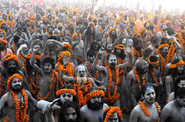 Kumbh Mela ,Allahabad, Haridwar, Ujjain, Nasik , India, Khichdi, Festival of the world, The biggest religious gathering of humanity