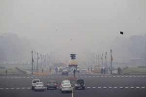 Prime Minister Narendra Modi launches National Air Quality Index to give pollution information