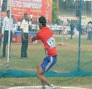 Ashish Jakhar from Haryana sets National Youth record in hammer throw
