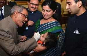 President launches pulse polio immunization programme