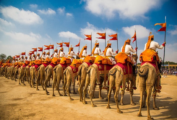 Desert Festival, Jaisalmer . India, Gair Dancer,  Fire dancers, Cultural events, camel races, turban tying competitions, Mr. Desert contest