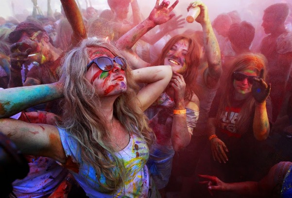 Holi is celebrated with much gusto by Indians and foreigners alike in India