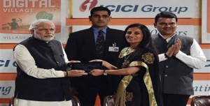 khichdi, blog,current affairs, general,knowledge, ias, ips, civil, services, CSAT,pre, ies, general studies, GS, mains, competitive, entrance, bank, PO, IBPS,ICICI Bank Launches Digital Village Project in Akodara Village of Gujarat