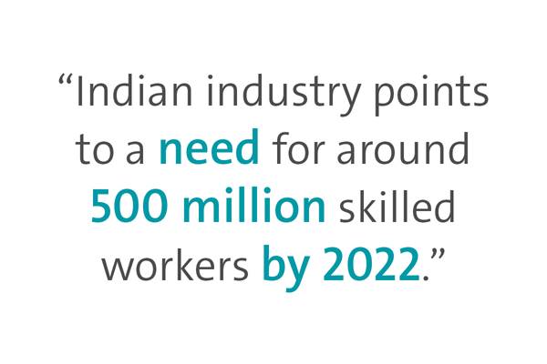 India needs 500 Million Skilled workers by 2022, Make In India, National Rural Livelihoods Mission, NRLM, MGNREGA,Antyodaya Anna Yojana , RSBY households, BPL PDS card, SSCs, NSDC, NCVT, placement of 75% of all trainees,  State Skill Missions, SSMs, State Rural Livelihood Missions, SRLM, Project Implementation Agency, PIA, Biometric Attendance, Project Himayat, Project Roshni, LWE prone districts, Champion Employer Policy, Captive Employer Scheme,  Rural India Emblem for skills, PMKVY, Pradhan Mantri Kaushal Vikas Yojana, STAR scheme 2