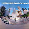 Future Scenario : World's Events of  2050s – World's timeline 2050-2059