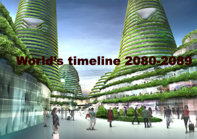 Future Scenario : World's Events of 2080s – World's timeline 2080-2089