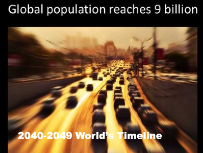 Future Scenario : World's Events of   2040s – World's timeline 2040-2049