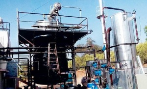 Cow-urine refinery inaugurated at Pathmeda village for research on cow products