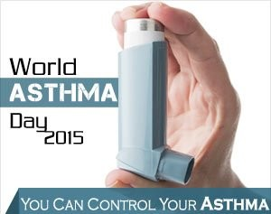 World Asthma Day 2015 observed with theme You Can Control Your Asthma