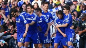 Chelsea won Barclays Premier League 2014-15 title with 1-0 win over Crystal Palace