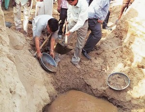 A paleo channel claimed as River Saraswati identified in Muglawali village of Haryana