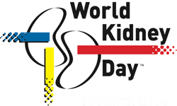 World Kidney Day (WKD) , 12th March, ,global health awareness campaign, International Society  of Nephrology (ISN), International Federation of  Kidney Foundations (IFKF)