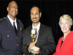 Harkeert Singh Saini, an Indian-American wins Prestigious Police Award in Texas, US