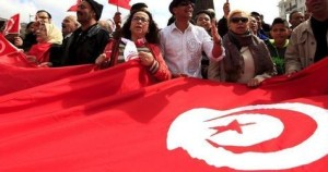 World's largest flag unfurled in Tunisia