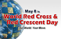 World Red Cross Day, Red Cross and Red Crescent Societies , IFRC, Jean Henri Dunant, 8th May