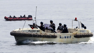 Philippines and Japan coast guards held anti-piracy drills in Manila Bay