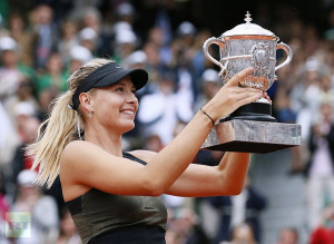 Maria Sharapova of Russia won the women's single of Italian Tennis Open for third time