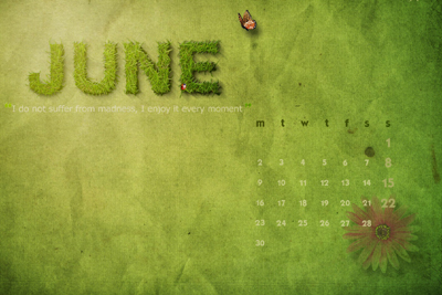 Days of  JUNE –  Celebrated all over the world