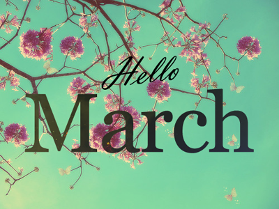 Days of  March  –  Celebrated all over the world