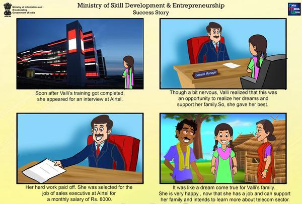 Hunar Hai To Kadar Hai, Ministry of Skill Development And Entrepreneurship, Success story , PMKVY, DGE&T