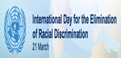 International Day for the Elimination of Racial Discrimination,  21st March, United Nations , UN, racial discrimination