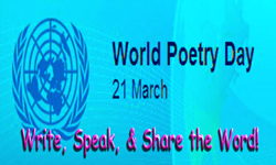 World Poetry Day , 21st March, United Nations Educational,  Scientific, and Cultural Organization, UNESCO