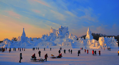 Snow & Ice Festival  –  Harbin – China – The Greatest Festivals On the Earth