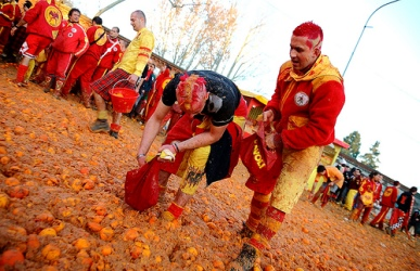 The Battle of the Oranges – Ivrea – Italy- The Greatest Festivals On the Earth