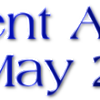 Current Affairs: 3rd May 2015